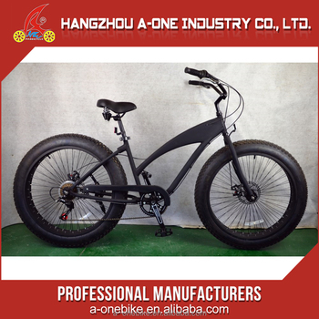 Good Price Big Mountain Alloy Frame Snow Fat Tire Bikes From China