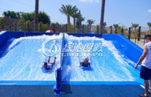 Adults Skateboarding Surfing Simulator Fiberglass Water Slide for Summer Entertainment