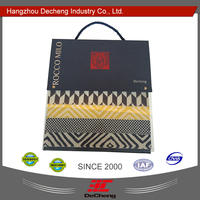 Luxury textile sample cardboard book covers design