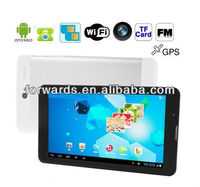MD700 MTK6577 dual core 1GHz support 3g gps dual cameras 800x480 Option 1024x600 Tablet PC