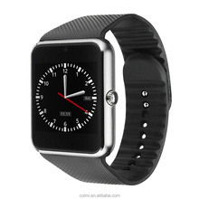 Unlocked Smart Watch Mobile Phone CE ROHS GT08 Smart Watch With Sim Card MTK6261 GT08
