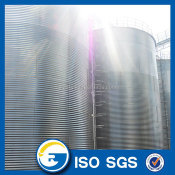steel wheat silo