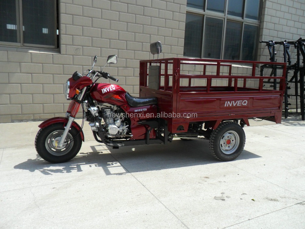 Big Power Diesel Engine 3-Wheel Tricycle With Wagon Box ISO9000 CCC For Sale