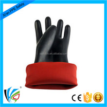 2 class Electrical Latex Rubber Insulating safety Gloves