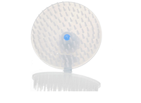 Plastic scalp massage hair shampoo brush