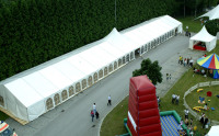 Deluxe Peg and Wedding Big Pole Tent Marquee