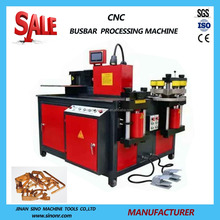 CNC copper busbar processing bending cutting punching machine