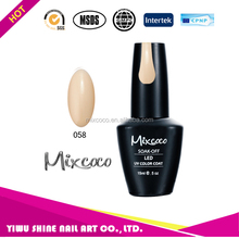 Mixcoco uv gel polish private label gel polish with organic greenstyle gel polish