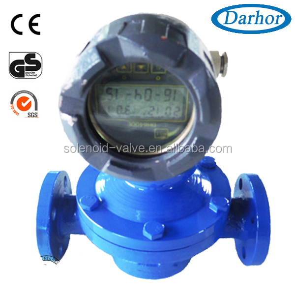 DARHOR DH900 series Oval gear diesel oil flow meter