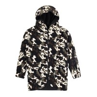 wholesale winter clothing camo hoody sherpa military jacket wholesale