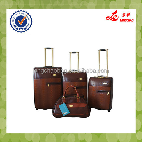 Handle Bag Sealer Decorative Standard Suitcase Size Men Leather Briefcase