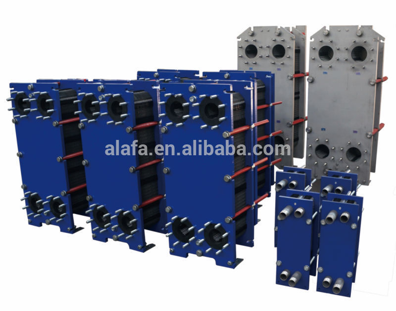High effective professional tube & plate heat exchanger for food industry