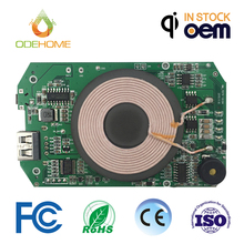 pcb assembly manufacturer service one-coil power bank wireless charger pcb/pcba