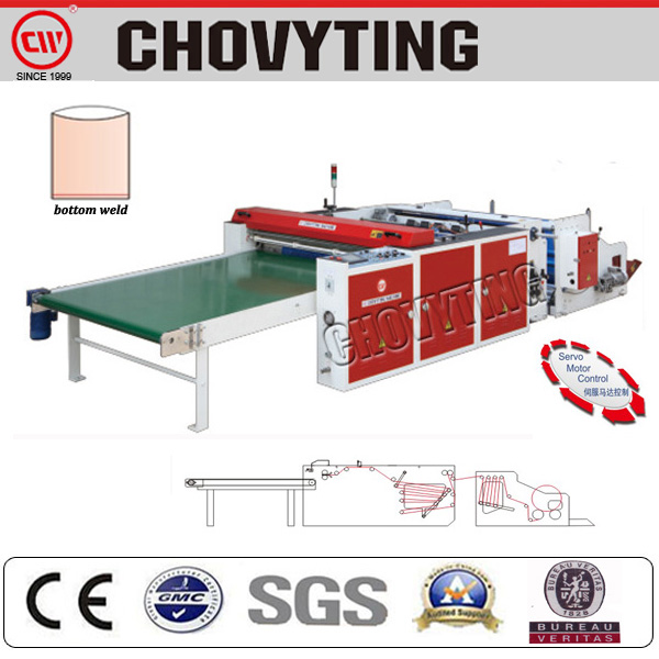 CW-1400FB pe bag making machine/bag machine plastic/garbage bag machine