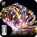 Wholesale Christmas Decoration Waterproof Led Remote Control Battery String Light