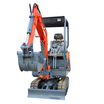 crawler excavator with patented design
