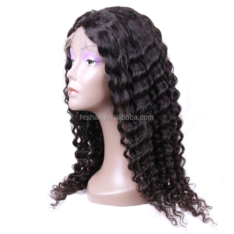 Alibaba Hot sale 360 lace frontal wig,wholesale price human hair micro braids wig