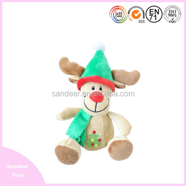 Very popular animal plush toys for christmas Day's gifts/soft stuffed plush toys
