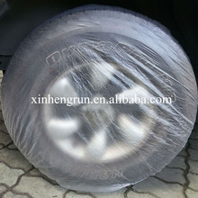 Factory wholesale high quality disposable Plastic PE Car tyre Cover