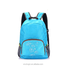 wholesale cheap funny blue waterproof cute girl's laptop school PVC backpacks 2016