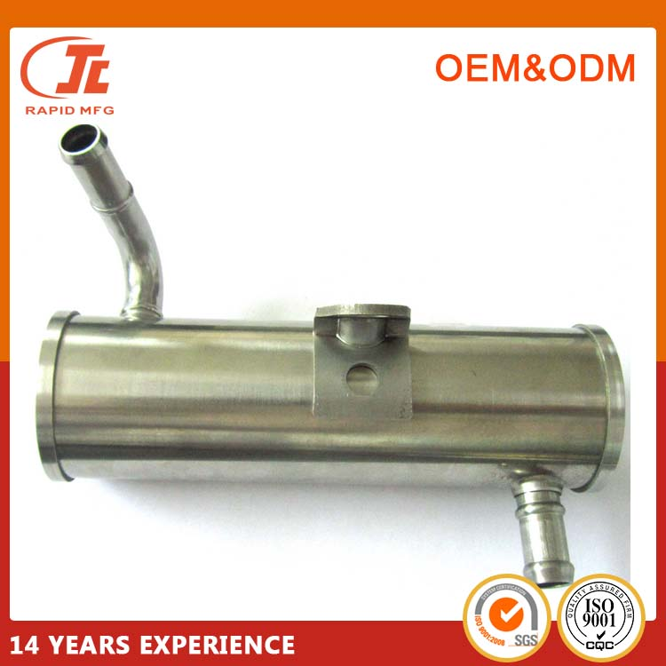 304 Stainless Oil Connection Pipe CNC Turning For Car Spare Parts
