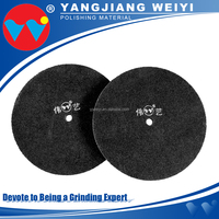Contemporary low noise surface cleaning stainless steel polishing disc