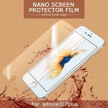 Itop Anti Burst Film AR Ultra High Clear Nano glass Screen Protector For IPhone 7 Screen Protector