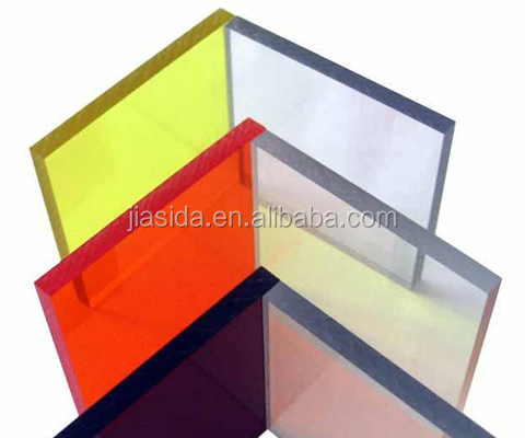 1.5 -15mm thickness colored Polycarbonate solid sheet