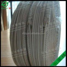 Fiberglass Braided Wire/Colored Lamp Wire with Textile Braide/Textile Braided Power Cords for Irons
