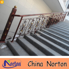 Outdoor house decorative wrought iron stair railing NTIS-008A