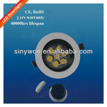 Energy Saving 90mm Cutout Size Dimmable LED Downlight