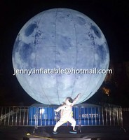 Display advertising inflatable model/inflatablr moon /giant inflatable ball