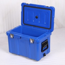 Plastic Rotomolded coolers box PU foam outdoor ice chest for fishing