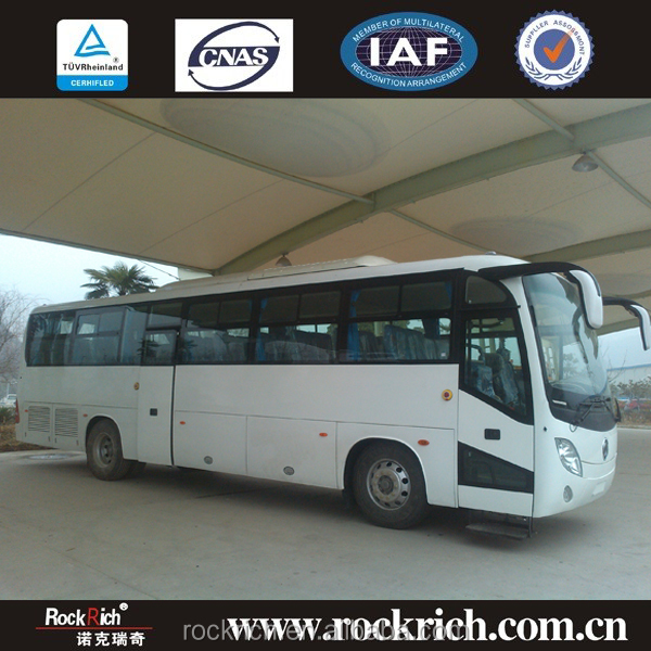 11.3 meters Dongfeng EQ6113L4D Luxury coach bus design latest