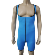 Corzzet 21700 Men's Waist Trianer Above Knee Underbust Neoprene Vest Shapers For Sports Body Slimming