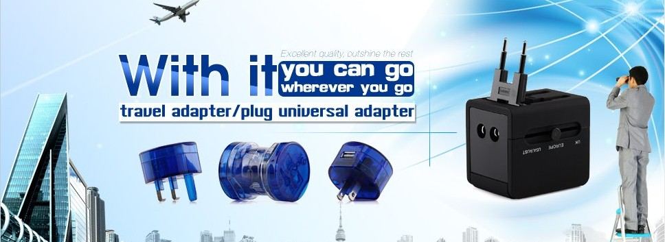 Worldwide travel germany to uk plug multipurpose usb port travel adapter