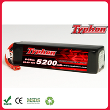 5200mAh 40C 22.2V 6S Grade A LiPo Battery For RC Car, Mini Drones FPV Quadcopter, Skylark m4-fpv250, Shredder 200, ZMR250, Qav25