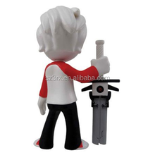 CUSTOM 3d kids toys figures for sale/custom made small stands mould urban boy figurines stores