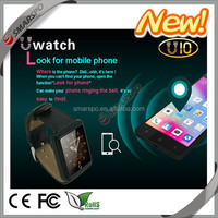 touch screen led watch smartphone unlock bluetooth smart watch phone with sms reminding, music and health functions