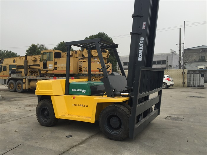 Used Forklift Truck Capacity 3 5 8 10 25 30 40 50 Ton Diesel Forklift