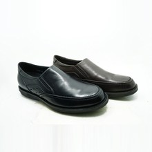 no lace slip on style comfortable sole cheap wholesale made by order men dress shoes made of genuine leather