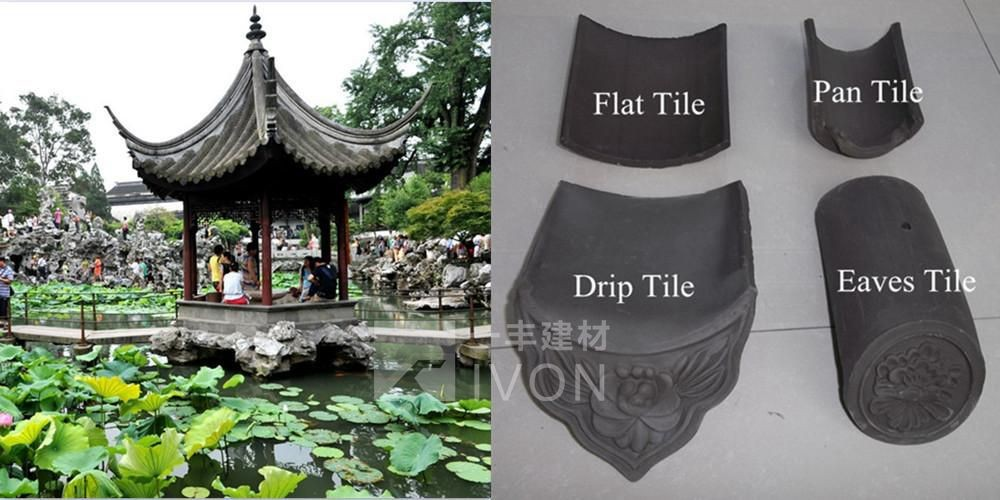 IVON High quality traditional chinese roof tiles sale