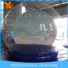 Inflatable Clear Bubble Room Christmas Snow Show Ball