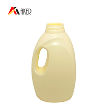 wholesale empty 1000ml PE plastic laundry liquid detergent bottle with handle for sale