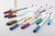 20 COLORS Metallic Markers Pens Permanent Fine Tip Metal Art Paint Marker For Gift