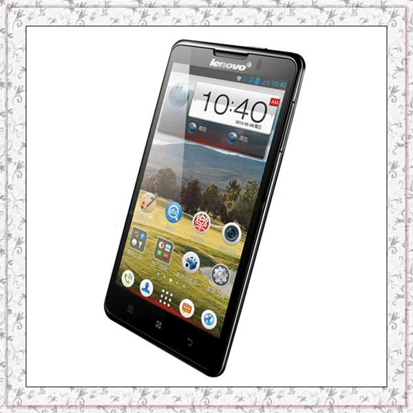 Lenovo P780 Lenovo MTK6589 quad core Phone 5.0inch 1.2GHz android 3G 1GB RAM 4GB ROM Smart Phone camera 8MP bluetooth GPS