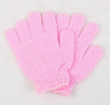 Bath glove bath mitt exfoliating glove