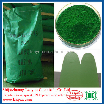 Chrome oxide green for epoxy floor coating