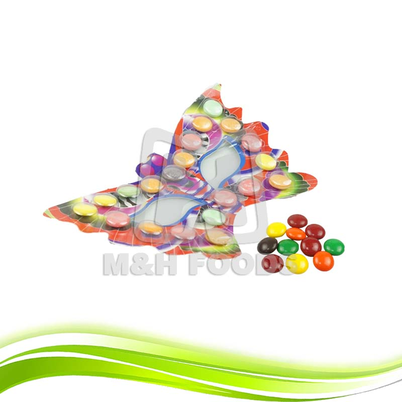 Cheap Chocolate Candy Glasses Shape Toy Candy Chocolate Bean
