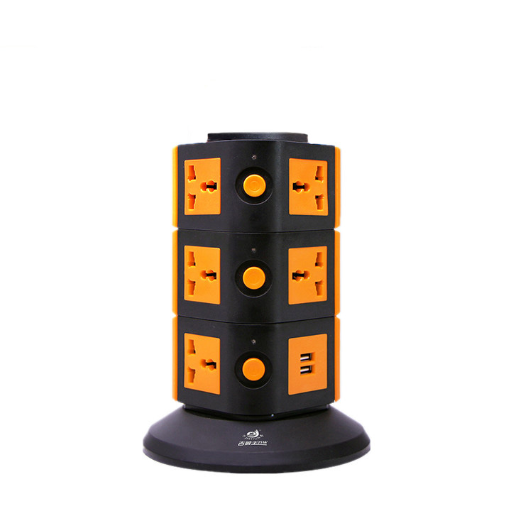 dubai wholesale market 4 layers tower socket universal adaptor for <strong>travel</strong> with safety shutter